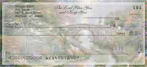 Thomas Kinkade's Heaven on Earth Personal Check Designs